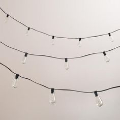 Edison-Style 10-Bulb String Lights $25