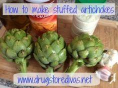 Tasty Thursdays: Stuffed Artichokes - Drugstore Divas