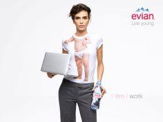 #Evian. Vive Joven.  Cuida tu cuerpo, por dentro y por fuera.