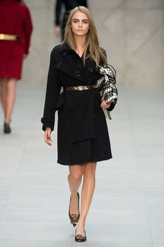 Long & Lovely at Burberry Prorsum London Fashion Week Autumn Winter 2013 - 2014