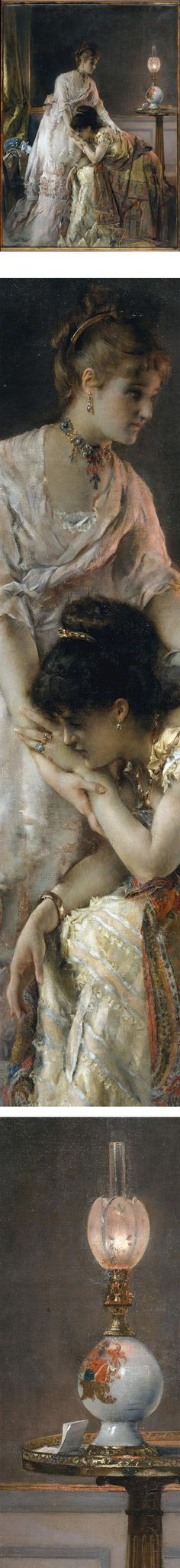 After the Ball by Alfred Stevens.