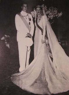Duca Aimone d'Aosta e principessa Irene di Grecia . 1 Luglio 1939