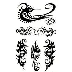 Google Image Result for http://pmcdn.priceminister.com/photo/tatouage-temporaire-body-tatoo-hippocampe-poissons-et-motif-tribal-deco-corps-909121383_ML.jpg