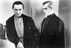 he Raven is a 1935 American horror film directed by Lew Landers (billed under his real name, Louis Friedlander) and starring Boris Karloff and Béla Lugosi.[2] The picture revolves around Edgar Allan Poe's famous homonymous poem, featuring Lugosi as a Poe-obsessed mad surgeon with a torture chamber in his basement and Karloff as a fugitive murderer desperately on the run from the police. Lugosi had the lead role, but Karloff received top billing, using only his last name.