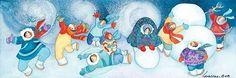 Barbara Lavallee, Celebrating Snow