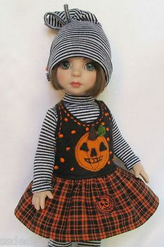 "OOAK Patsy's Happy Halloween for 10"" Ann Estelle etc Made by Ssdesigns 