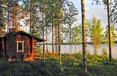 In Finland, retreating to the summer cottage helps maintain wellbeing by tuning into nature, resting and relaxing.