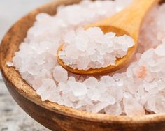 10 Benefits of Celtic Sea Salt and Himalayan Salt A very good article  on the link  Mix Sea Salt and Epsom Salts which is Magnesium  in your hot bath water  and soak yourself  for 20 mins or more or  iien a foot soak (whilst on your computer) you will notice the difference fast    Good for over active kids too