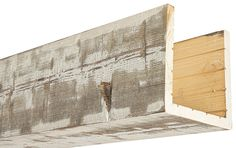 Our box beams provide all of the characteristics of a solid wood beam, at a fraction of the weight! Always made from real oak or cedar, 15 colors. Home Ceiling, Ceiling Beams, Ceilings, Metal Beam, Cedar Box, Cedar Posts, Faux Wood Beams, Wood Sample, Wood Siding