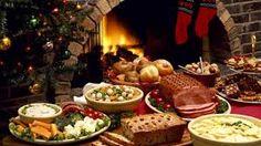 een lekker feest maal voor de kerstdagen