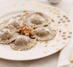 Ricotta, Pasta Maker, Tasty, Yummy Food, Buckwheat, Tortellini, Food Art, Italian Recipes, Oatmeal