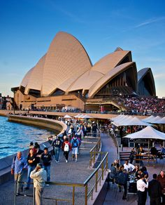 Sydney Opera House - Australia Love Australia because it has kangaroos and kolas <3  Sydney is fun. Their downtown has tons to do and the zoo is so big!!