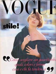 Vogue Italia February 1992 : Isabella Rossellini by Steven Meisel - the Fashion Spot