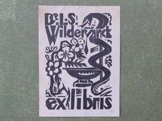 [Fré Cohen] ex libris L.S. Wildervanck
