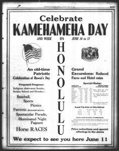 Happy King, Hawaiian Men, King Kamehameha, First Sunday, Round Trip, Celebrities, Bright Yellow, Memories, Celebrity