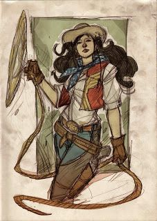 Dennis Mendri - Wonder Woman redesign