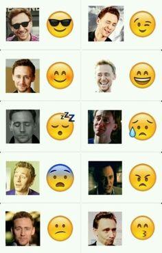 He is emojis.