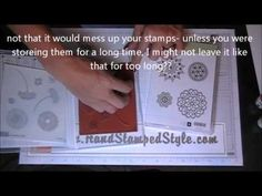 Tips and Tricks for Stampin' Up! Clear Mount Stamps