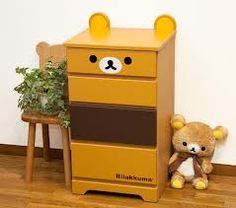 Kawaii Rilakkuma Dresser