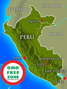 Peru first country in Americas to ban GMOs - Underground Health ペルーは遺伝子組み換え作物を禁止するアメリカで最初の国