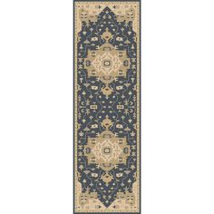 Hand-tufted Misty Traditional Wool Rug (3' x 12') | Overstock.com Shopping - The Best Deals on Runner Rugs