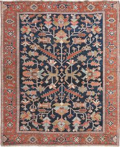 Persian Heriz rug, J.H. Minassian gallery