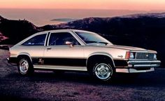 1980 Chevy Citation X-11. My 2nd Citation after the 1st one got pushed head on into a telephone pole. Still got the scar on my forehead. What a pig. V6 cam worn down to a nub at 40k; replaced and engine blew @ 60k.