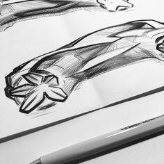 Car Design Sketch, Car Sketch, Auto Design, Automotive Design, Car Head, Drawing Sketches, Drawings, Line Sketch, Transportation Design