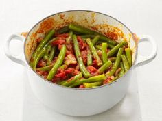 Green Beans With Tomatoes Recipe | Food Network Kitchen | Food Network
