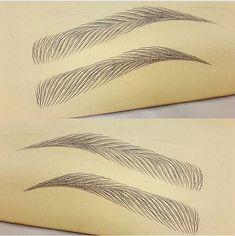 Sculpture - Eye Makeup tips Mircoblading Eyebrows, Natural Eyebrows, Eyebrow Makeup Tips, Permanent Makeup Eyebrows, Face Makeup, Brow Embroidery, Brow Studio, Eyebrow Design, Phi Brows