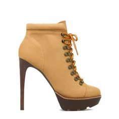 Rockstr - by STEVE MADDEN. Genuine-nubuck platform high heel construction boots.