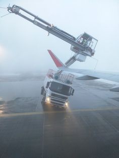 Iberia Airbus A320 hits de-icing trucks at Munich Airport, Germany: http://aviation-safety.net/wikibase/wiki.php?id=183775