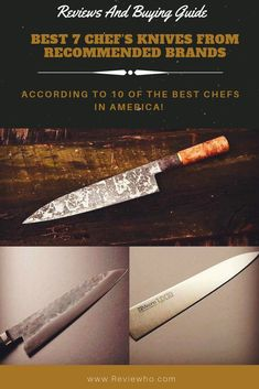 2bf05110ad6b6 94 Best Cutlery & Kitchen Knives images in 2019 | Chef knife ...