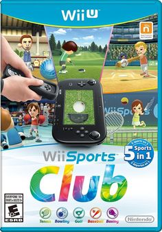 Buy Wii Sports Club - Wii U, Nintendo, Nintendo, Video Game Wii Sports, Sports Clubs, Sports Games, Cry Anime, Anime Art, Bowling, Xbox One, Playstation, Tennis