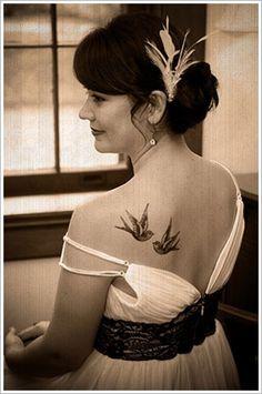 Beautiful swallow tattoos