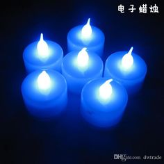 Wholesale DHL 3.8*4.4cm LED Tealight Tea Candles Flickering Flameless Light Battery Operated Wedding Birthday Party Christmas Decoration J112601-z#, Free shipping, $1.07/Piece | DHgate Mobile