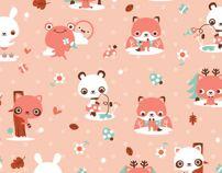 Enamorada del muro by Luli Bunny, via Behance