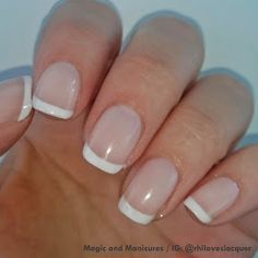 Essie Fench Manicure Acrylic French Manicure, French Nail Polish, Classic French Manicure, Pink Acrylic Nails, Essie Nail Polish, French Tip Nails, French Manicures, French Classic, Manicure Colors