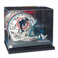Houston Texans NFL Liberty Value Full Size Football Helmet Display Case