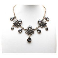 Talia Necklace in Gray