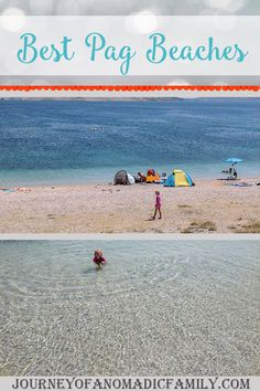 Best Pág beaches for adventurous kids & dogs - Journey of a Nomadic Family Beach Cove, Seaside Beach, Island Beach, Croatian Islands, Short Break, Snorkelling, Paddle Boarding, Beach Photos, Holiday Destinations