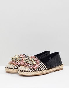 Skechers Bindu Embellished Flip Flops (47 AUD) ❤ liked on