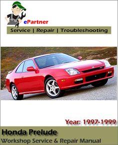 download honda accord service repair manual 1986 1989 my 90 honda rh pinterest com 1997 honda prelude repair manual 1986 honda prelude repair manual