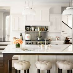 Alec Baldwin and wife Hilaria renovated a century farmhouse in East Hampton into a bright and modern home. Tour the Baldwin home then shop the look.