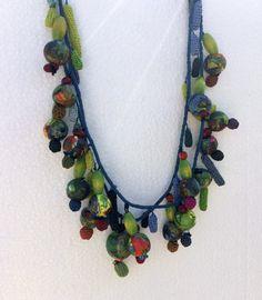 3 D, Crochet Necklace, Objects, Create, Jewelry, Jewerly, Jewlery, Schmuck, Jewels