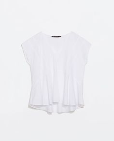 ZARA - SALE - FULL POPLIN TOP