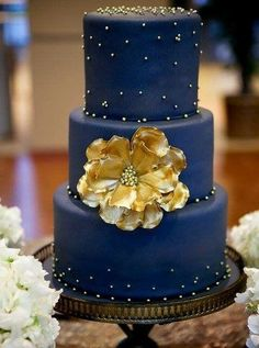 gold+and+navy+wedding+ | colorful wedding theme gold and navy decor navy and gold