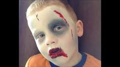 Image result for kids zombie face paint