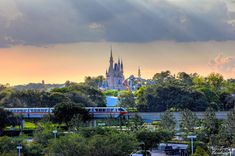 "Magic Kingdom, taken from the Contemporary Resort - I love this Disney Photo Blog ""Burnsland""!"