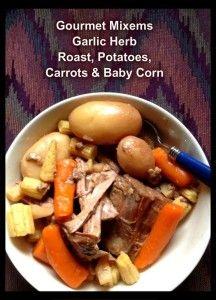 Gourmet Mixems Garlic Herb Dip Mix Roast